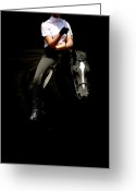 Dressage Digital Art Greeting Cards - Girl Power Greeting Card by Steven  Digman