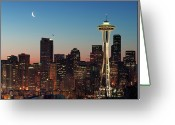 Washington State Greeting Cards - Give Me Liberty...and Nothing Else. Greeting Card by Doug van Kampen, van Kampen Photography