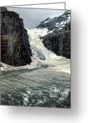 Abbot Greeting Cards - Glacier Climb Greeting Card by Steve Harrington