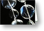 Glass Beads Greeting Cards - Glass Beads Greeting Card by Sarah Loft