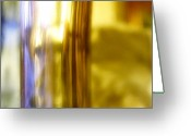 Abstract Greeting Cards - Glass Greeting Card by Mimulux patricia no
