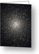 Star Clusters Greeting Cards - Globular Cluster Ngc 2808 Greeting Card by Stocktrek Images