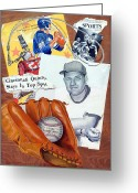 Glove Greeting Cards - Glory Days Greeting Card by Harry West