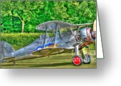 Raf Photo Greeting Cards - Gloster Gladiator 1938 Greeting Card by Chris Thaxter