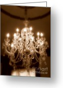 Martha Greeting Cards - Glow from the Past Greeting Card by Karen Wiles