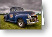Antique Truck Greeting Cards - Gmc 100 Greeting Card by Thomas Young