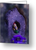 Gnome Greeting Cards - Gnomes Work Is Never Done Greeting Card by The Stone Age