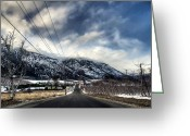 Tonemapped Greeting Cards - Going North Greeting Card by Spencer McDonald