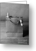 All-metal Greeting Cards - Going Shopping 01 Greeting Card by Nailia Schwarz