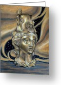 Amazon Greeting Cards - Gold Rhyton from Bulgaria Greeting Card by Stoyanka Ivanova