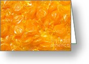 Caramel Greeting Cards - Golden Butterscotch Greeting Card by Andee Photography