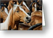 Ranch Greeting Cards - Golden Child Greeting Card by JQ Licensing