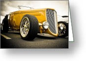 Gold Ford Greeting Cards - Golden Rod Greeting Card by Phil