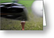 Golf Club Greeting Cards - Golf Sport or Game Greeting Card by Christine Till