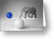 Equilibrium Greeting Cards - Good Balance Greeting Card by Gualtiero Boffi