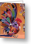 Abstract Realism Painting Greeting Cards - Good Morning Greeting Card by Bob Coonts