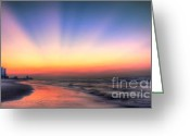 Myrtle Beach South Carolina Greeting Cards - Good Morning Greeting Card by Jeff Breiman