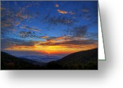 Leave Greeting Cards - Good Morning Virginia Greeting Card by Metro DC Photography