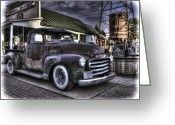 Antique Truck Greeting Cards - Good Old Days Greeting Card by Thomas Young