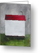 Antennae Painting Greeting Cards - Good Reception Greeting Card by Ralph LeCompte