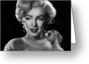 Marylin Greeting Cards - Goodbye Norma Jean Greeting Card by Julie L Hoddinott