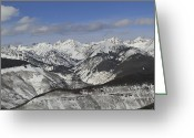 Gore Greeting Cards - Gore Range, Dillon, Colorado, In Winter Greeting Card by John Kieffer