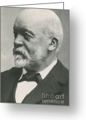 Four-wheel Greeting Cards - Gottlieb Daimler Greeting Card by Science Source