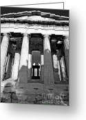 Parthenon Greeting Cards - GR0004 The Parthenon Athens Greece Greeting Card by Steve Sturgill