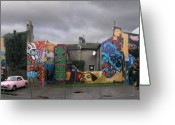 Signature Photo Greeting Cards - Graffiti from Brighton. UK. Greeting Card by Mike Lester