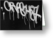 Daniel Greeting Cards - Graffiti Greeting Card by Robert Ullmann