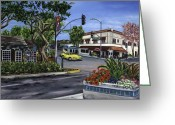 Reinhardt Greeting Cards - Grand and State Greeting Card by Lisa Reinhardt