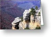 Grand Canyon Greeting Cards - Grand Canyon 39 Greeting Card by Will Borden