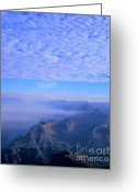 Grand Canyon Greeting Cards - Grand Canyon Blues Greeting Card by Alex Cassels