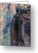 Light And Water Greeting Cards - Grand Canyon Close Enough Greeting Card by Bob Christopher