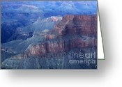 Light And Water Greeting Cards - Grand Canyon Grandeur Greeting Card by Bob Christopher