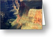 Light And Water Greeting Cards - Grand Canyon Magic Of Light Greeting Card by Bob Christopher