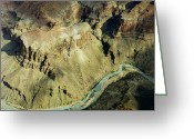 Colorado Framed Prints Greeting Cards - Grand Canyon River Greeting Card by M K  Miller