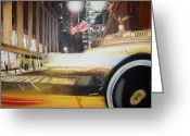 Hyperrealism Greeting Cards - Grand central Greeting Card by Gonzalo Salazar