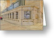 Public Transportation Greeting Cards - Grand Central Terminal Greeting Card by Susan Candelario