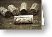 Taste Greeting Cards - Grand Cru Classe Greeting Card by Frank Tschakert