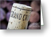 Wine Cellar Greeting Cards - Grand Cru Greeting Card by Frank Tschakert