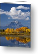 Parks Greeting Cards - Grand Teton XII Greeting Card by John Blumenkamp
