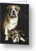Grandson Greeting Cards - Grandson of Sampson 2 Greeting Card by Peter Piatt