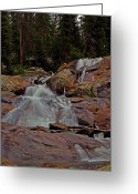 Brian Kerls Greeting Cards - Granite Falls Greeting Card by Brian Kerls