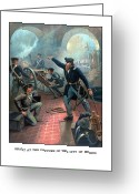 Military History Greeting Cards - Grant At The Capture Of The City Of Mexico Greeting Card by War Is Hell Store