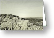 Autumn Photographs Greeting Cards - Gray Peaks Greeting Card by Andrea Hazel Ihlefeld