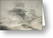 Mood Greeting Cards - Gray sky Greeting Card by Lyubomir Kanelov