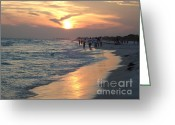 Grayton Beach Greeting Cards - Grayton memories Greeting Card by April Murray
