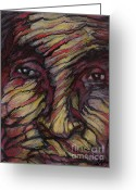 Spiritual Art Pastels Greeting Cards - Great Grand Greeting Card by Alyssa  Hinton