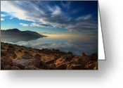 Great Point Greeting Cards - Great Salt Lake Utah Greeting Card by Utah Images